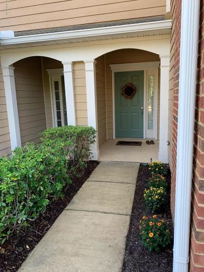 Jacksonville Townhouse For Sale: 4119 Rosecliff Ln