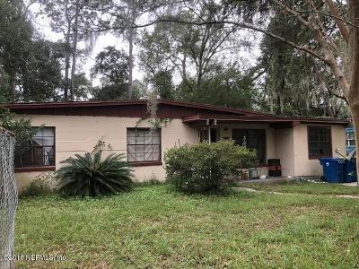Jacksonville Single Family Home For Sale: 10448 Dodd Rd