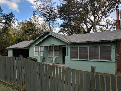 Jacksonville Single Family Home For Sale: 2334 5th Ave