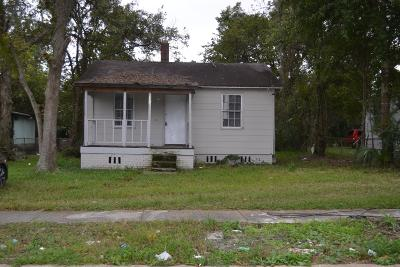 Jacksonville Single Family Home For Sale: 1256 W 32nd St