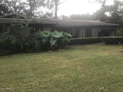 Orange Park FL Single Family Home For Sale: $125,000