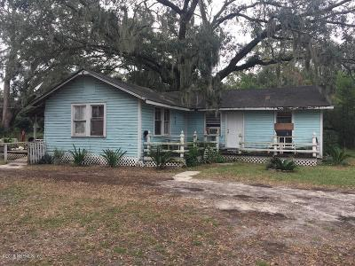 Jacksonville Single Family Home For Sale: 7732 Calvin St