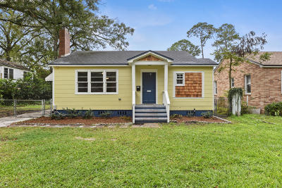 Jacksonville Single Family Home For Sale: 572 Meteor St