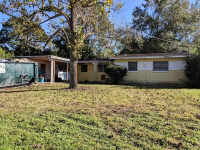 Jacksonville Single Family Home For Sale: 5020 Dallen Lea Dr