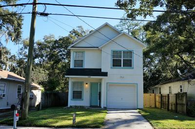 Jacksonville Single Family Home For Sale: 3309 Spring Glen Rd