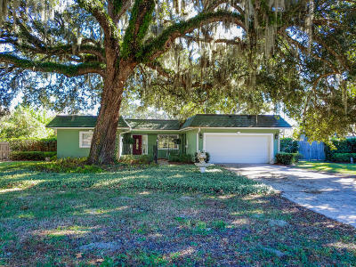 Fleming Island Single Family Home For Sale: 6339 Pine Ave