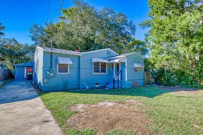 Jacksonville FL Single Family Home For Sale: $73,500