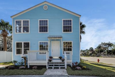 Neptune Beach Single Family Home For Sale: 237 Oleander St