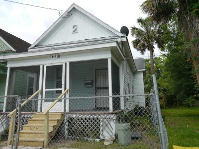 Duval County Single Family Home For Sale: 1480 Myrtle Ave N