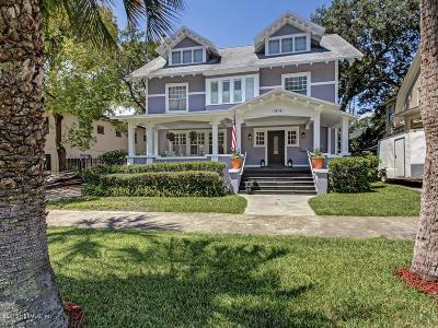 Jacksonville Single Family Home For Sale: 1818 Bayard Pl