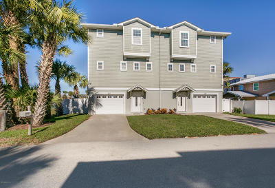 Jacksonville Beach Townhouse For Sale: 107 17th Ave #B