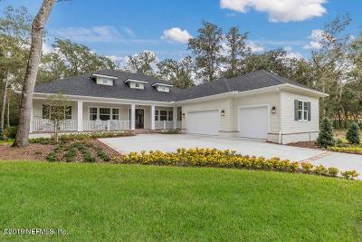 Clay County, Duval County, Flagler County, Nassau County, Putnam County, St. Johns County Single Family Home For Sale: 8553 Beverly Ln