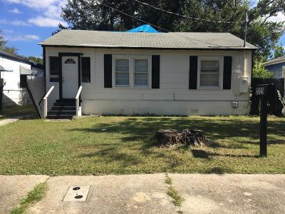 Jacksonville FL Single Family Home For Sale: $38,000