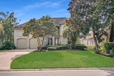 Ponte Vedra Beach Single Family Home For Sale: 145 Deer Cove Dr