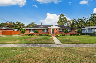 Duval County Single Family Home For Sale: 5027 Ortega Blvd