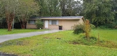 Jacksonville FL Single Family Home For Sale: $129,900