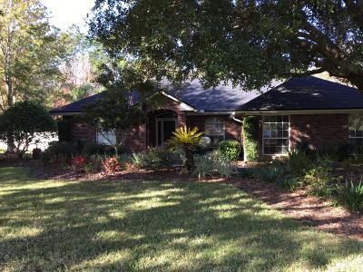 Jacksonville Single Family Home For Sale: 1052 Pebble Ridge Dr
