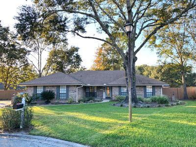 Jacksonville Single Family Home For Sale: 12532 Stage Coach Ln