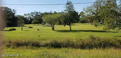 St. Johns County Residential Lots & Land For Sale: 5743 Lots (11&12) State Road 207