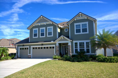 Fleming Island, Green Cove Spr, Jacksonville, Orange Park, Atlantic Beach, Fernandina Beach, Jacksonville Beach, Neptune Beach, Ponte Vedra, Ponte Vedra Beach, St Johns, Palm Valley, Vilano Beach Single Family Home For Sale: 406 Fever Hammock Dr