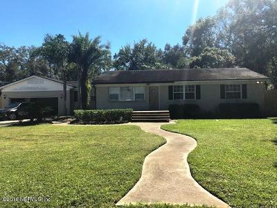 Duval County Single Family Home For Sale: 6806 Mc Mullin St
