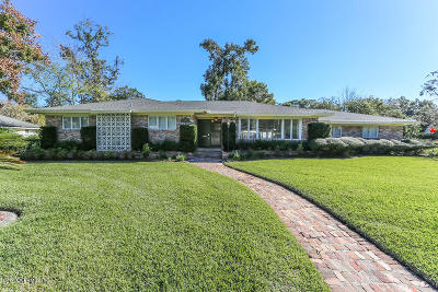 Jacksonville Single Family Home For Sale: 4906 River Basin Dr S