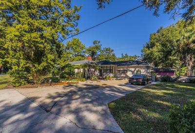 Jacksonville FL Single Family Home For Sale: $310,000