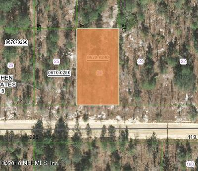 Residential Lots & Land For Sale: 276 Cypress St