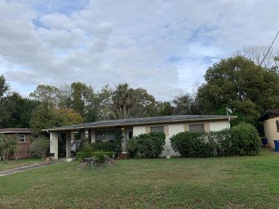 Jacksonville Single Family Home For Sale: 3211 De Carlo Ln