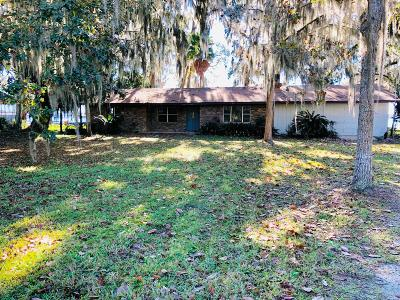 St. Johns County Single Family Home For Sale: 8329 Colee Cove Rd