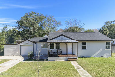 Jacksonville Single Family Home For Sale: 9767 Lily Rd