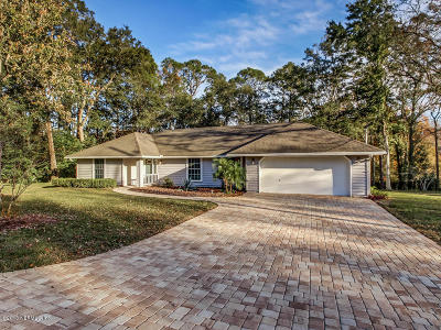Jacksonville Single Family Home Contingent Take Backup: 12787 Julington Rd