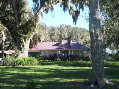 St. Johns County Single Family Home For Sale: 13910 County Rd 13 N