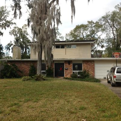 Duval County Single Family Home For Sale: 4831 San Clerc Rd