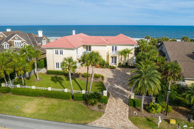 Ponte Vedra Beach FL Single Family Home For Sale: $8,800,000