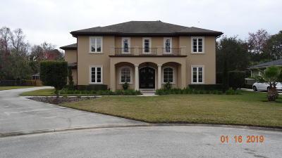 Jacksonville FL Single Family Home For Sale: $799,999