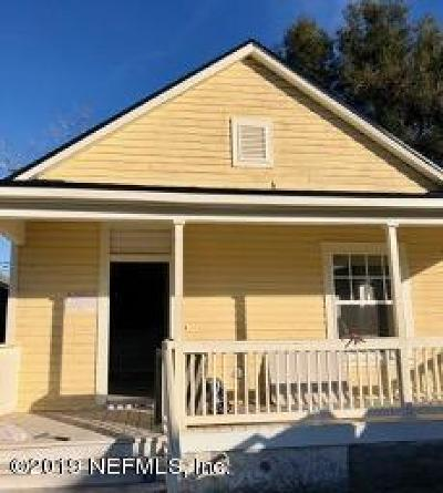 St. Johns County, Clay County, Putnam County, Duval County Rental For Rent: 1949 Redell St