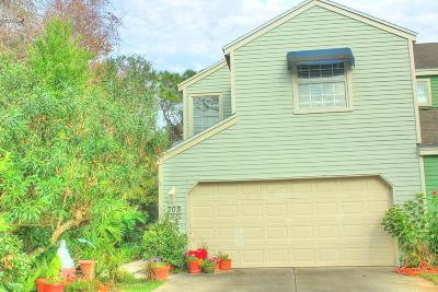 Neptune Beach Townhouse For Sale: 305 Sunrise Cir