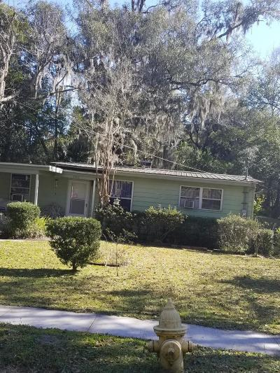 St. Johns County, Flagler County, Clay County, Duval County, Nassau County Single Family Home For Sale: 2546 Clyde Dr