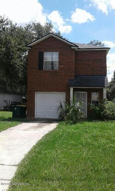 Jacksonville Single Family Home For Sale: 8106 Oden Ave #3