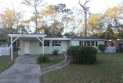 Jacksonville Single Family Home For Sale: 5111 Fredericksburg Ave