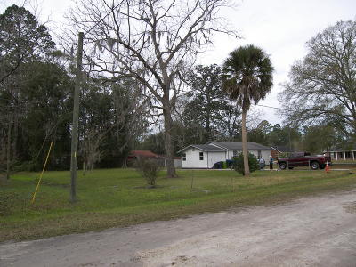Hilliard FL Single Family Home For Sale: $75,000