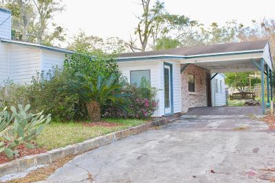 Jacksonville Single Family Home For Sale: 7943 Free Ave