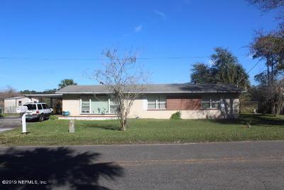 Jacksonville FL Single Family Home For Sale: $115,000