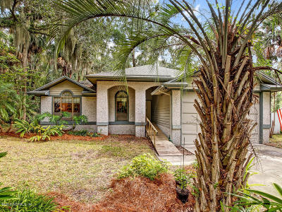 Fernandina Beach Single Family Home For Sale: 96220 Piney Island Dr