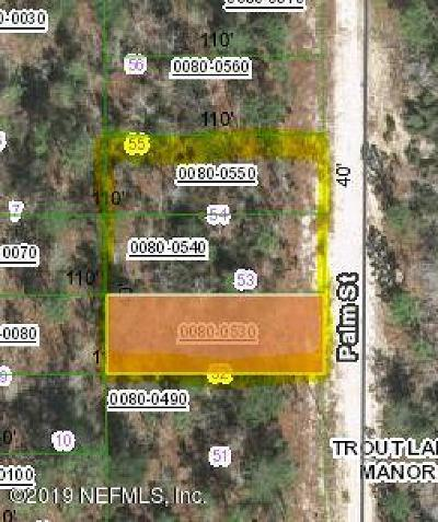 Interlachen FL Residential Lots & Land For Sale: $2,500