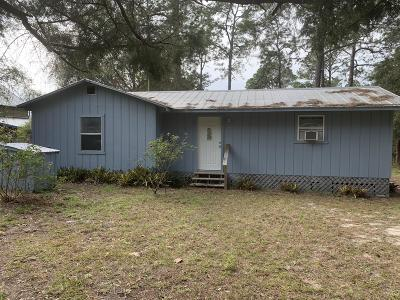 Keystone Heights Single Family Home For Sale: 5724 SE 4th Ave