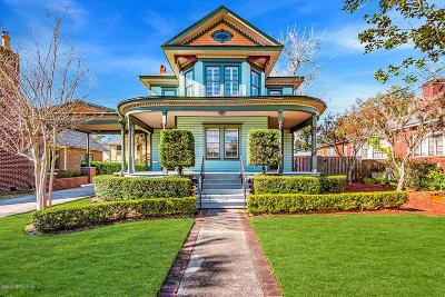 Jacksonville Single Family Home For Sale: 2789 St Johns Ave