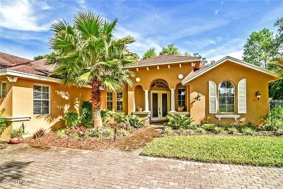 Fernandina Beach Single Family Home For Sale: 96085 Oak Canopy Ln