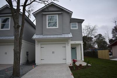 Atlantic Beach Single Family Home For Sale: 110 Jackson Rd
